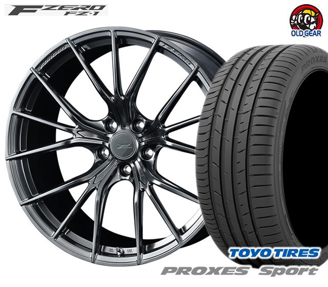 ウェッズ F ZERO FZ-1 エフゼロ タイヤ・ホイール 新品 4本セット トーヨー プロクセス・スポーツ 215/40R18 パーツ バランス調整済み!