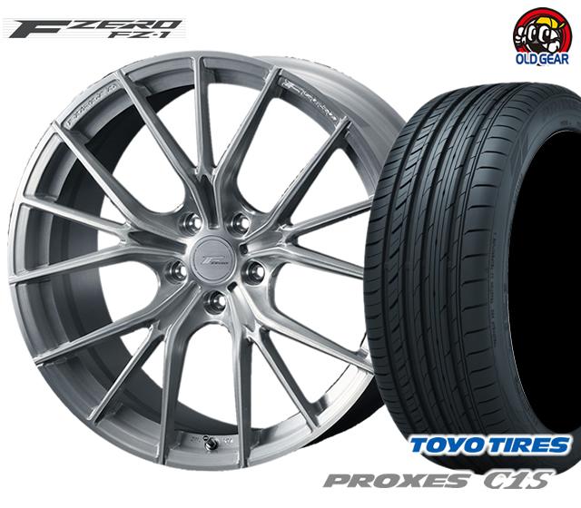 ウェッズ F ZERO FZ-1 エフゼロ タイヤ・ホイール 新品 4本セット トーヨー プロクセスC1S 245/35R20 パーツ バランス調整済み!