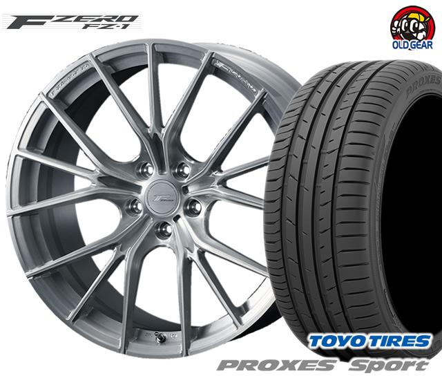 ウェッズ F ZERO FZ-1 エフゼロ タイヤ・ホイール 新品 4本セット トーヨー プロクセス・スポーツ 215/45R18 パーツ バランス調整済み!