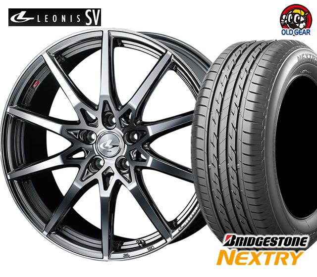 ウエッズ レオニスSV タイヤ・ホイール 新品 4本セット ブリヂストン ネクストリー 185/60R16 パーツ バランス調整済み!