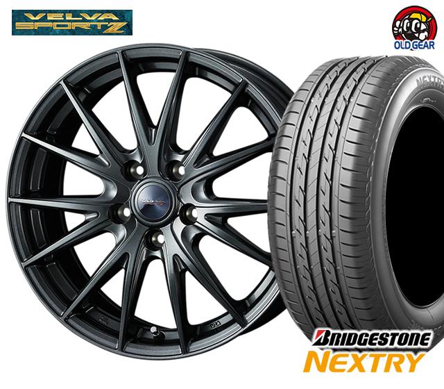 ウエッズ ヴェルヴァスポルト2 タイヤ・ホイール 新品 4本セット ブリヂストン ネクストリー 205/60R16 パーツ バランス調整済み!