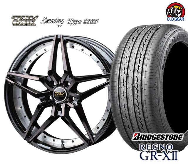 非常に高い品質 トライアルファ レオウィング タイプ S325 タイヤ タイプ・ホイール S325 新品 パーツ 4本セット ブリヂストン レグノ GR-X2 F235/35R19・R245/35R19 パーツ バランス調整済み!, メンズコスメ スタイル:d54b416d --- ecommercesite.xyz