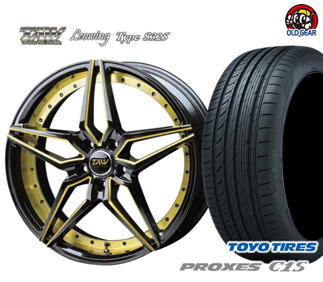 トライアルファ レオウィング タイプ S325 タイヤ・ホイール 新品 4本セット トーヨータイヤ プロクセス C1S F235/35R19・R245/35R19 パーツ バランス調整済み!