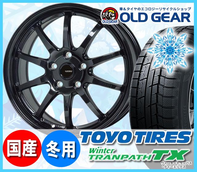 トーヨータイヤ ウィンタートランパスTX 235/50R18 スタッドレス タイヤ・ホイール 新品 4本セット ホットスタッフ Gスピード G-04 パーツ バランス調整済み!