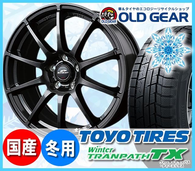 トーヨータイヤ ウィンタートランパスTX 215/60R16 スタッドレス タイヤ・ホイール 新品 4本セット シュナイダー STAG パーツ バランス調整済み!