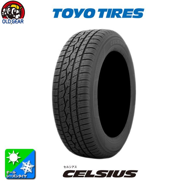 国産オールシーズンタイヤ単品 215/65R16 TOYO TIRES トーヨータイヤ CELSIUS セルシアス 新品 4本セット