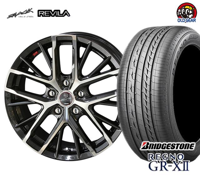 共豊 スマック レヴィラ 塩害軽減対策設計 タイヤ・ホイール 新品 4本セット ブリヂストン レグノ GR-X2 185/65R15 パーツ バランス調整済み!