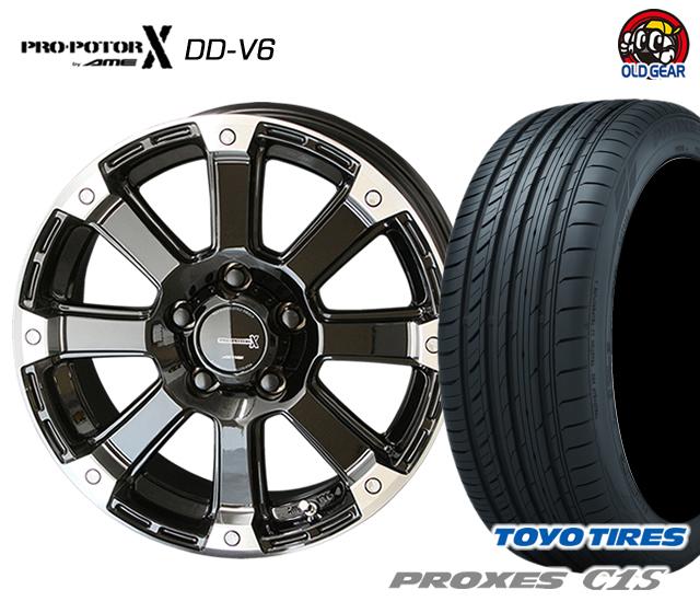 共豊 PPX DD-V6 タイヤ・ホイール 新品 4本セット トーヨータイヤ プロクセス C1S 205/60R16 パーツ バランス調整済み!