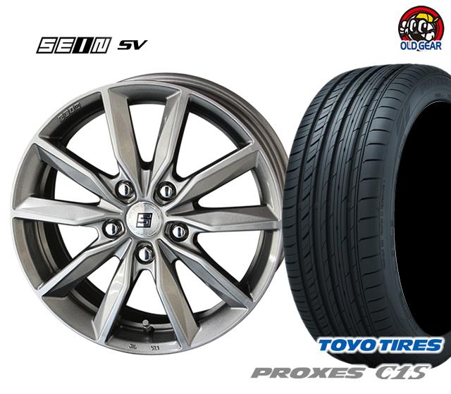 共豊 ザイン SV 塩害軽減対策設計 タイヤ・ホイール 新品 4本セット トーヨータイヤ プロクセス C1S 205/65R15 パーツ バランス調整済み!