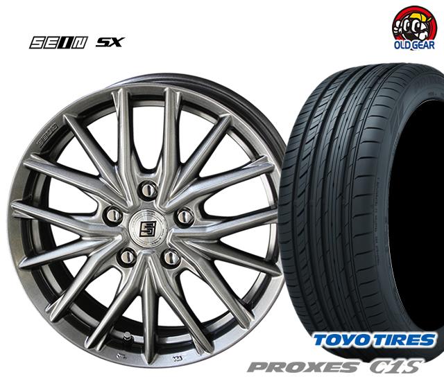 共豊 ザイン SX 塩害軽減対策設計 タイヤ・ホイール 新品 4本セット トーヨータイヤ プロクセス C1S 205/65R16 パーツ バランス調整済み!