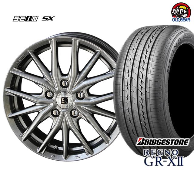 共豊 ザイン SX 塩害軽減対策設計 タイヤ・ホイール 新品 4本セット ブリヂストン レグノ GR-X2 185/60R16 パーツ バランス調整済み!