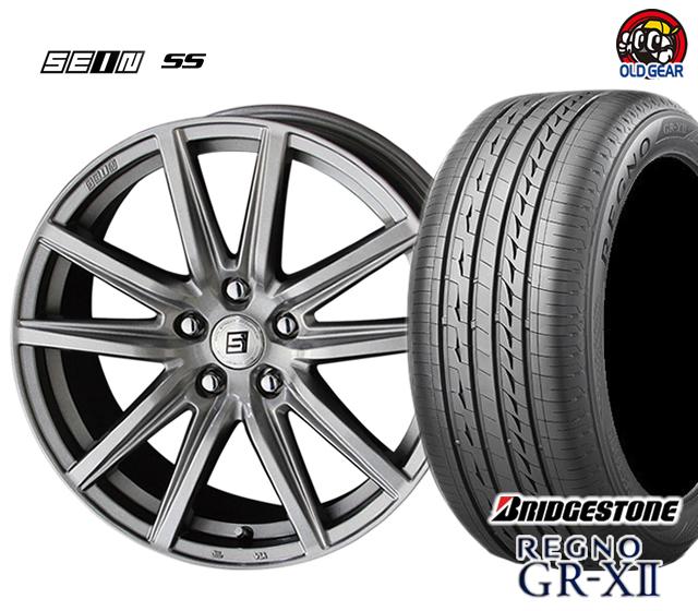 共豊 ザイン SS 塩害軽減対策設計 タイヤ・ホイール 新品 4本セット ブリヂストン レグノ GR-X2 185/65R15 パーツ バランス調整済み!