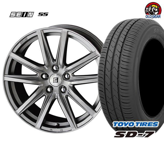 共豊 ザイン SS 塩害軽減対策設計 タイヤ・ホイール 新品 4本セット トーヨータイヤ SD7 185/60R15 パーツ バランス調整済み!