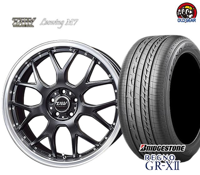 新品登場 トライアルファ パーツ レオウィング M7 ブリヂストン タイヤ・ホイール 新品 4本セット ブリヂストン 4本セット レグノ GR-X2 F235/35R19・R245/35R19 パーツ バランス調整済み!, 小牧市:65acc6fd --- statwagering.com