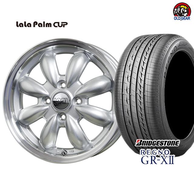 ホットスタッフ ララパーム カップ タイヤ・ホイール 新品 4本セット ブリヂストン レグノ GR-X2 175/65R15 パーツ バランス調整済み!