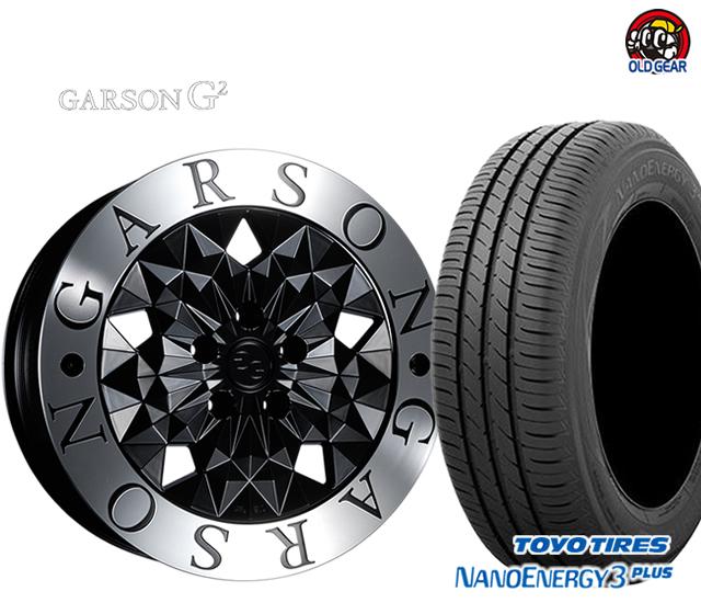 期間限定送料無料 GARSON 特別セール品 G2 ギャルソン タイヤ ホイール 新品 4本セット 215 3 パーツ ナノエナジー 購買 トーヨータイヤ プラス 40R18 バランス調整済み