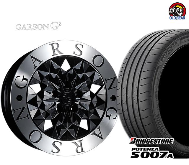 日本限定 GARSON G2 ギャルソン G2 タイヤ・ホイール G2 G2 新品 新品 4本セット ブリヂストン ポテンザ S007A 245/40R20 パーツ バランス調整済み!, HONEY ME EYES:f740f10f --- eraamaderngo.in