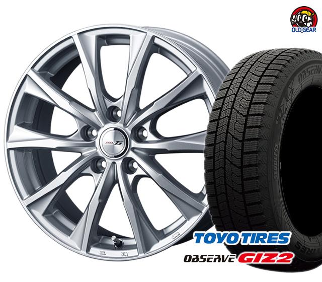 トーヨータイヤ GIZ2 ギズ2 215/45R18 スタッドレス タイヤ・ホイール 新品 4本セット ウェッズ ジョーカーグライド パーツ バランス調整済み!