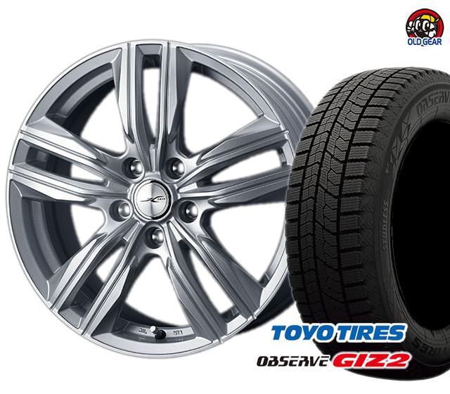 トーヨータイヤ TOYO GIZ2 ギズ2 155/65R14 スタッドレス タイヤ・ホイール 新品 4本セット ウェッズ ジョーカースクリュー パーツ バランス調整済み!