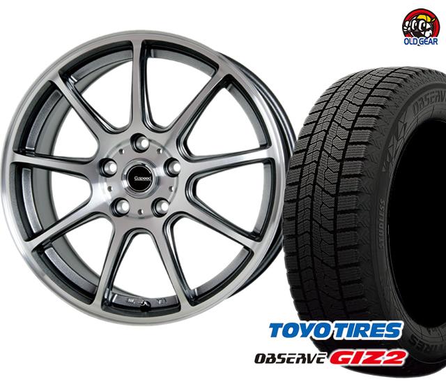 トーヨータイヤ ガリットGIZ2 ギズ2 155/70R13 スタッドレス タイヤ・ホイール 新品 4本セット ホットスタッフ Gスピード P-01 パーツ バランス調整済み!
