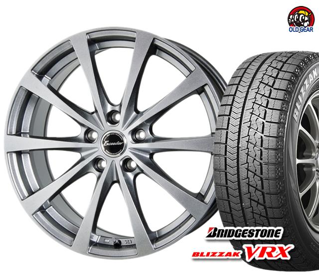 ブリヂストン ブリザック VRX 165/65R13 スタッドレス タイヤ・ホイール 新品 4本セット ホットスタッフ エクシーダー E03 パーツ バランス調整済み!