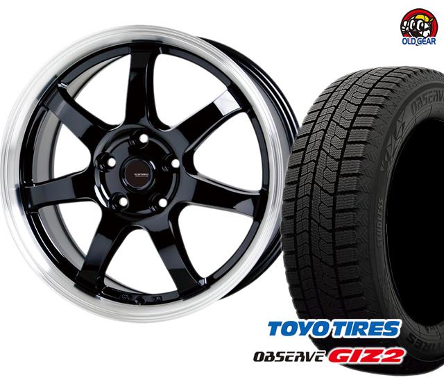 新品 175/70R14 Gスピード P-03 ギズ2 バランス調整済み! タイヤ・ホイール ガリットGIZ2 スタッドレス パーツ ホットスタッフ トーヨータイヤ 4本セット