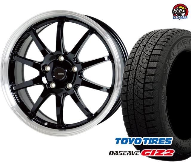 新品 ギズ2 スタッドレス ホットスタッフ バランス調整済み! パーツ タイヤ・ホイール 245/40R18 4本セット P-04 ガリットGIZ2 Gスピード トーヨータイヤ