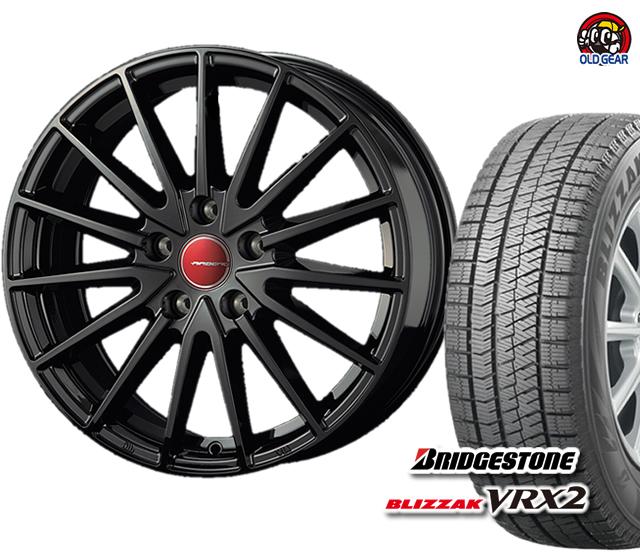 4本セット バランス調整済み! ブリザック パーツ 新品 165/70R14 エアベルグ VRX2 スタッドレス ゼノン ブリヂストン タイヤ・ホイール