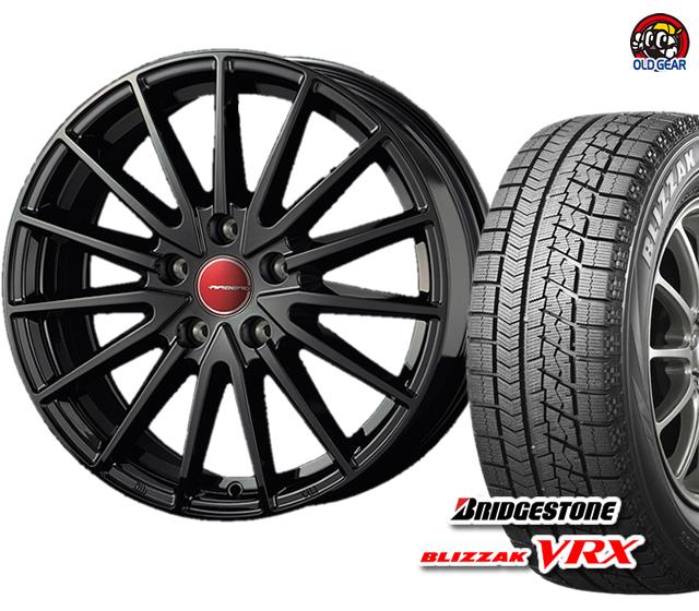ブリヂストン ブリザック ゼノン バランス調整済み! 新品 パーツ エアベルグ VRX スタッドレス 4本セット 175/70R14 タイヤ・ホイール