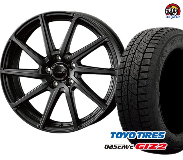 タイヤ・ホイール ギズ2 ガリットGIZ2 スタッドレス トーヨータイヤ パーツ ローレン 4本セット 新品 エアベルグ バランス調整済み! 175/70R14