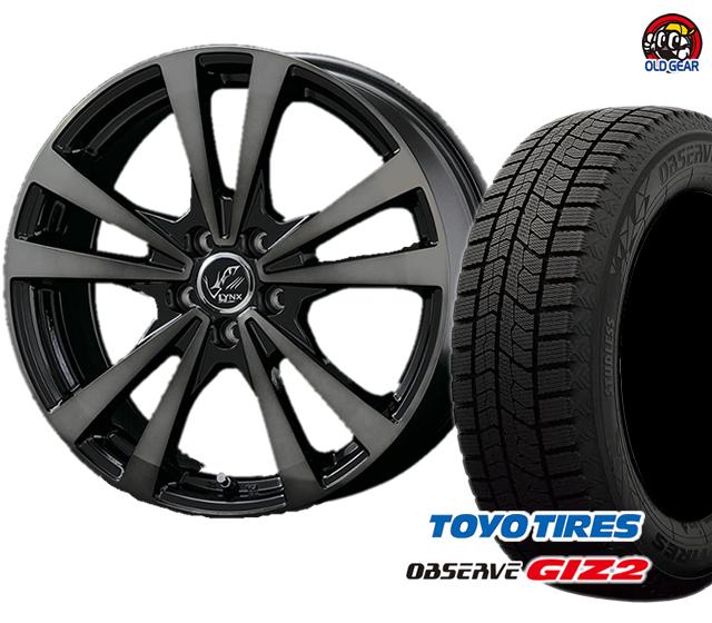 トーヨータイヤ ガリットGIZ2 155/65R14 4本セット 新品 パーツ バランス調整済み! タイヤ・ホイール リンクス スタッドレス プラウザー ギズ2