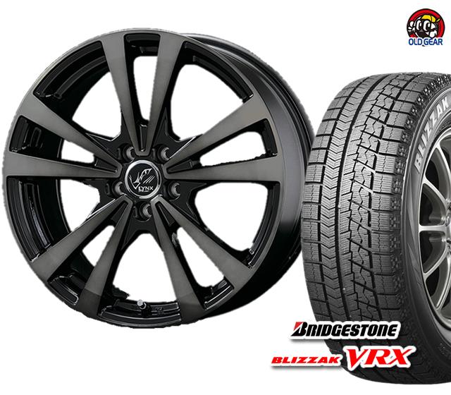 リンクス 新品 バランス調整済み! ブリザック ブリヂストン タイヤ・ホイール VRX プラウザー 4本セット 165/70R14 パーツ スタッドレス