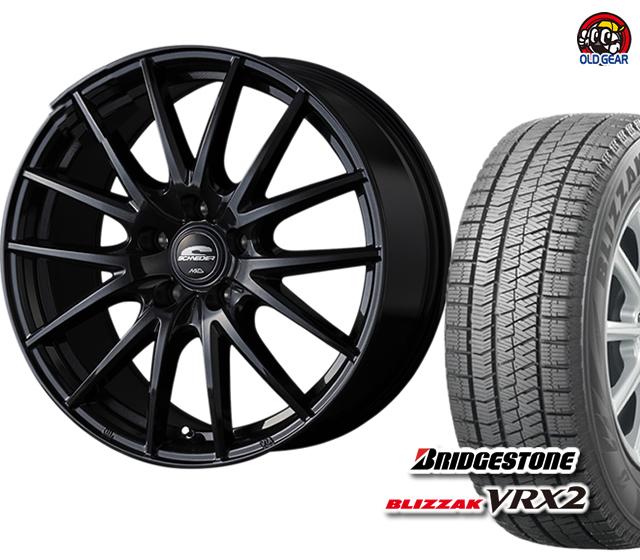 4本セット VRX2 ブリザック シュナイダー スタッドレス タイヤ・ホイール 155/65R13 パーツ 新品 バランス調整済み! SQ27 ブリヂストン