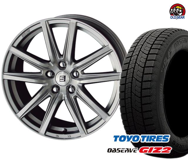 タイヤ・ホイール パーツ バランス調整済み! スタッドレス 新品 ガリットGIZ2 ザイン ギズ2 SS トーヨータイヤ 4本セット 175/65R15