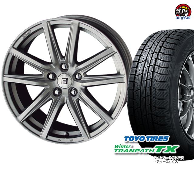 ウィンタートランパスTX スタッドレス タイヤ・ホイール トーヨータイヤ 新品 バランス調整済み! ザイン SS 215/65R15 パーツ 4本セット