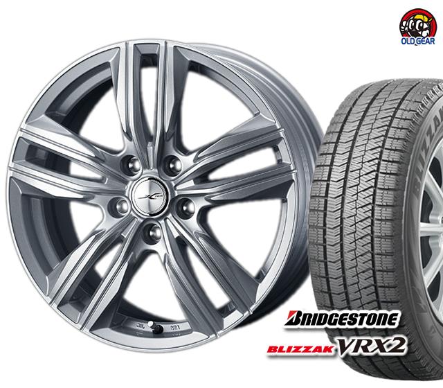 期間限定送料無料 ブリヂストン ブリザック VRX2 185 70R14 スタッドレス パーツ 新品 営業 バランス調整済み ジョーカースクリュー 希少 4本セット ホイール タイヤ