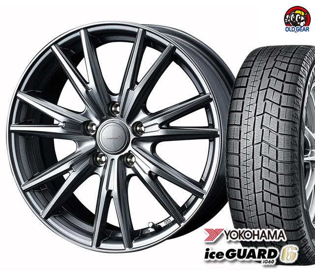 ヨコハマアイスガード6 ig60 165/65R13 スタッドレス タイヤ・ホイール 新品 4本セット ヴェルヴァケヴィン パーツ バランス調整済み!