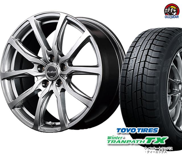 205/65R15 ウィンタートランパスTX タイヤ・ホイール パーツ 4本セット 新品 ユーロスピード バランス調整済み! スタッドレス G52 トーヨータイヤ