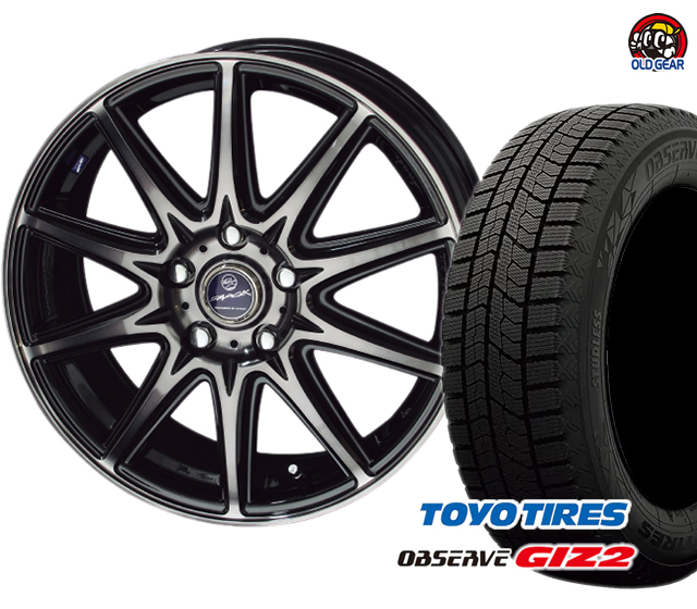 パーツ スタッドレス ガリットGIZ2 新品 ラヴィーネ トーヨータイヤ 175/70R14 4本セット スマック ギズ2 バランス調整済み! タイヤ・ホイール