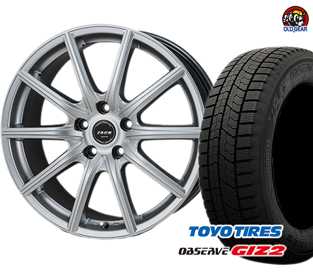 トーヨータイヤ SPORT-01 ZACK 175/65R15 新品 タイヤ・ホイール ギズ2 バランス調整済み! 4本セット ガリットGIZ2 パーツ スタッドレス