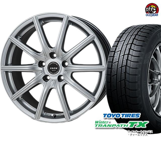 ZACK トーヨータイヤ タイヤ・ホイール ウィンタートランパスTX 新品 バランス調整済み! スタッドレス パーツ SPORT-01 4本セット 155/65R14