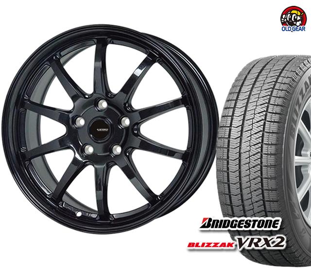 期間限定送料無料 ブリヂストン ブリザック VRX2 ストア 215 60R17 スタッドレス タイヤ ホットスタッフ バランス調整済み 新品 パーツ 4本セット ホイール G-04 引き出物 Gスピード