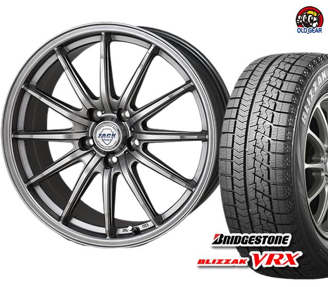 新品 ブリヂストン 4本セット タイヤ・ホイール ブリザック VRX バランス調整済み! ザック 175/70R14 スタッドレス JP-812 パーツ