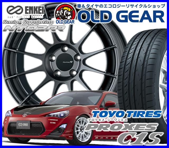国産タイヤ ホイール 新品 4本セット エンケイ レーシングレボリューション NT03RR 235 40R18265 35R18 235 40-18 265 35-18 新品トーヨー プロクセス C1S バランス調整済み