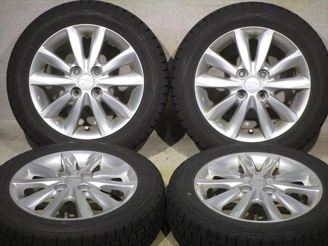 ホイールタイヤ 4本セット 155/65R14 純正 ダイハツ純正 14x4.5J+45 4H-100 新品 スタッドレス タイヤ TOYO ガリット G5