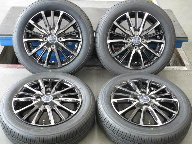 新品 ホイールタイヤ 4本セット 155/65R14 2020年製 新品社外 スマック ヴァルキリー 14x4.5J+45 4H100 新品 ラジアル タイヤ トーヨー SD-7
