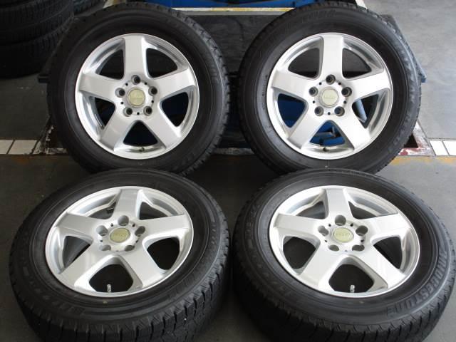 中古 ホイールタイヤ 4本セット 195/65R15社外 VGGIO 15x6J+45 5H114.3 中古 ラジアル タイヤ トーヨー SD-7