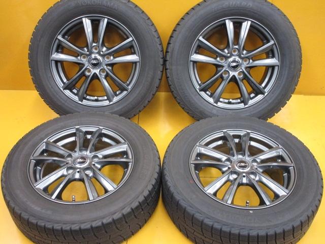 豊富な品 在庫商品 送料無料バランス調整済み 爆売り 豊富な商品ラインナップ 全国18店舗の安心をお客様にお届けいたします 中古 ホイールタイヤ 4本セット 195 SD-7 トーヨー ラジアル 15x6J+53 タイヤ 65R15社外 ニルヴァーナ 5H114.3