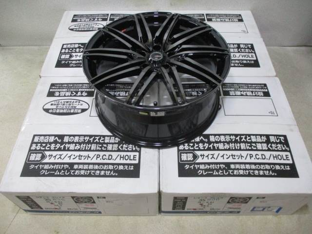 新品ホイールタイヤ 4本セット 245/35R19社外 Weds レオニス グレイラ 19x8J+35 5H114.3 新品 ラジアル タイヤ コンチネンタル エクストリームコンタクト DWS06