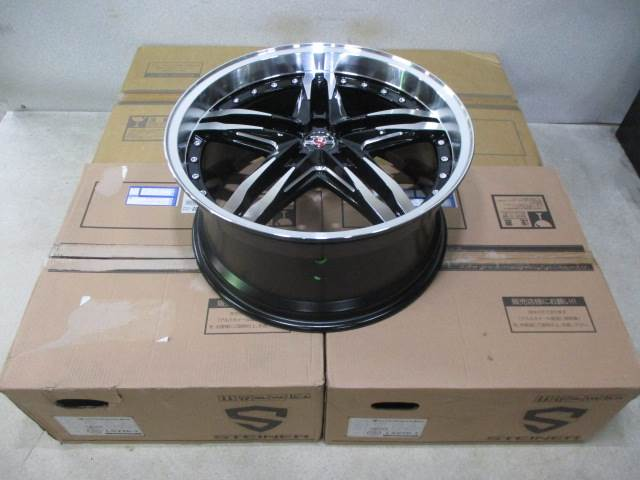 新品ホイールタイヤ 4本セット 245/40R20社外 共豊 シュタイナー LSV 20x8.5J+35 5H114.3 新品 ラジアル タイヤ コンチネンタル エクストリームコンタクト DWS06